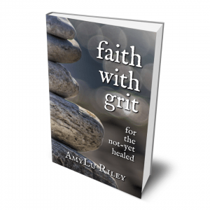 3D book cover of Faith with Grit by AmyLu Riley