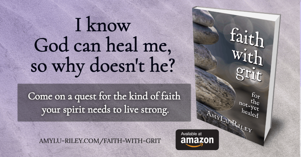 Faith with Grit by AmyLu Riley - book ad