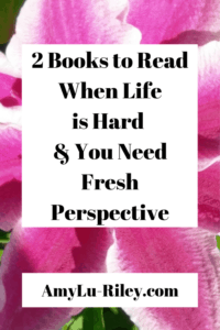 2 Books to Read When Life is Hard & You Need Fresh Perspective - AmyLu-Riley.com