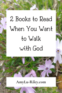 2 Books to Read When You Want to Walk with God - AmyLu-Riley.com