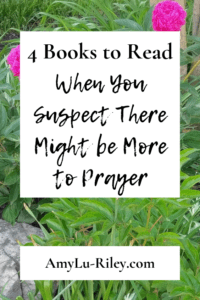 4 Books to Read When You Suspect There Might be More to Prayer - AmyLu-Riley.com