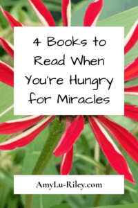 4 Books to Read When You're Hungry for Miracles - AmyLu-Riley.com